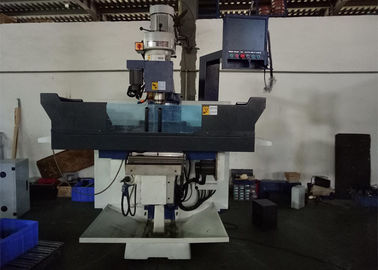 3 Axis CNC Vertical Milling Machine , 600kg Load Vertical Knee Type Milling Machine