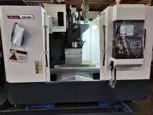 Iron RS232 Interface 8000rpm 7.5kw 4 Axis Cnc Machine