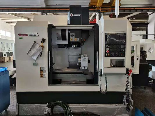 4 Axis RS232 5.5kw CNC Machining Center With Hydraulic Tailstock